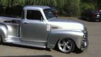 All Silver 1952 Chevrolet Pickup Street Truck Can Be the Car You Have Always Dreamed Of!