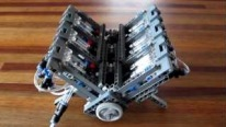 Lego Pneumatic V12 Engine Runs Flawlessly with Only Minor Vibrations!