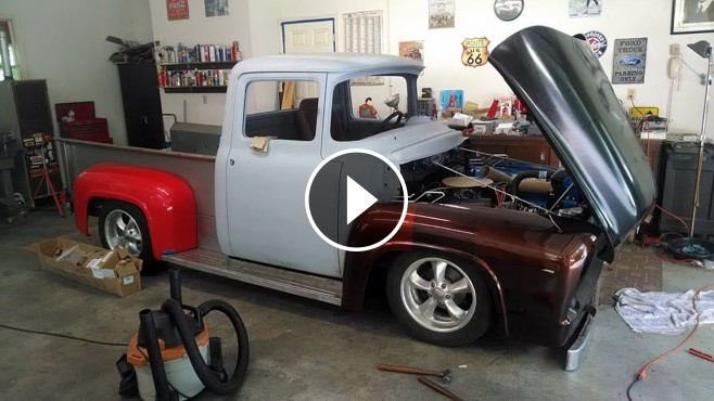 Spectacular Restoration Project Carried Out On 1956 Ford F