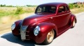 "Ron Cizek's ""Checkered Past"": Perfectly Built 1940 Ford is the Winner of Ridler Award"