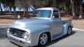 1954 Ford F-100 Resto Mod Pickup Truck is Fully Equipped with Materials of the Highest Quality