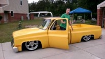 1981 Chevy C10 with Perfectly Dropped Body, Gorgeous Sound System and Fully Custom Interior