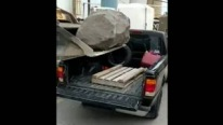 Ford Ranger vs Tremendous Boulder: Who's Gonna Win?