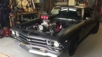 Legendary American: 1969 Blown Chevrolet Chevelle Sounds Like Bald Eagle During Cold Start