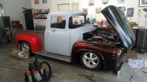Spectacular Restoration Project Carried Out on 1956 Ford F-100 Pickup Truck
