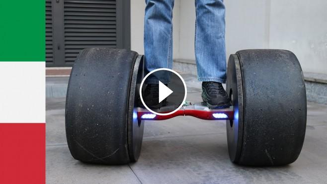 amazing project making a hoverboard using formula tires. Black Bedroom Furniture Sets. Home Design Ideas