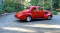 1937 Pontiac Coupe Has the Sweetest Shade of Red!
