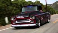 1956 Corner-Carving Chevrolet Apache with Very Rare Fleetside Bed