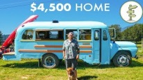 Explore the Possibilities: Brilliant Young Man Builds His Own Debt-Free Mobile Home for Less Than $4,500