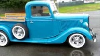 Chevy 350 V8 Powered 1936 Ford Pickup Looks Sounds and Drives Fantastic!