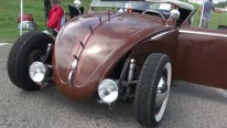 Very Interesting Transformed 1958 Volkswagen Beetle is Now a Rat Rod!