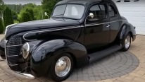 Fully Restored 1939 All Steel Ford Looks as Classy as an Italian Gangster from the 60's