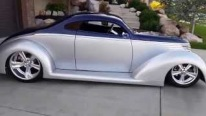 Very Rare and Unique 1937 Ford 5-Window Oze Custom Hot Rod is as Smooth as Mirror