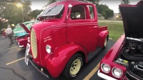 1939 Ford Cab Over Custom Truck Catches All the Attention on Itself!