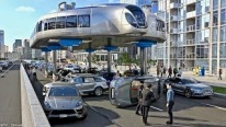 Creativity is the Matter: Futuristic Concept Vehicle Will Revolutionize the Public Transportation System