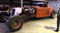 16V-71 Detroit Diesel Powered Hot Rod is The Baddest Rod You Can Ever See!