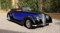 Custom Built 1937 Ford Cabriolet with Hand Carved Wood Interior is a Masterpiece of Advanced Craftsmanship