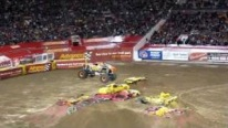 Tom Meents' Monster Truck Maximum Destruction Performs an Unforgettable Show to the Viewers
