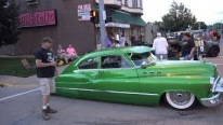 Custom Built 1950 Buick Has a Non-Traditional Hood Opening