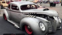 "Bruce Harvey Pro Comp Custom's 1940 Ford ""Moonshiner"" Hot Rod"