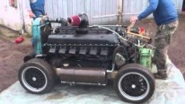 That's Not a Rolls Royce Merlin That's a Rover Meteor: 27 Litre 800HP Tank Engine