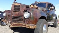 Lusciously Rough 1940 Hudson 4X4 Rat Rod Dares to Be Different