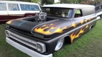 """Flat Broke: 1964 Chevrolet Carry-All C10 Panel Wagon Street Rod"