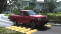 The World's Worst Speed Bump is a True Suspension Destroyer