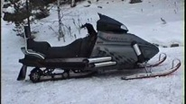 The World's First V8 Powered Snowmobile