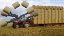 The Ultimate Level in Agriculture: Amazing Bale Collecting Machine