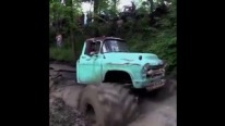 Old Chevy Truck is Turned into a Cool Monster Truck with Gigantic Tires