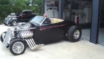 """The Outlaw"" Blown 392 HEMI Powered 1934 Roadster Roars with Class"