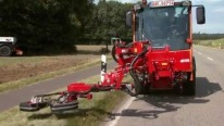 German Engineering at its Best: Mower Device by Duecker Works Smoothly