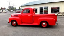 Cool Body + Powerful Engine + Perfect Paintjob = 1948 Custom Ford F3 Pickup