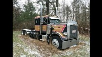Resurrection Completed: Taking a 1977 Peterbilt 359 Out of Its Grave After 18 Years