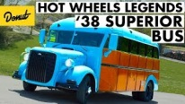 Vicky and Randy Roeber Transform Their Dodge Superior Bus into an Official Hot Wheels Car