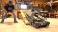 "Excellent R/C ""Giant Tank Destroyer"" Works for the Very First Time"
