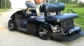 Regular Golf Cart is Successfully Transformed into an Almost-Luxury Car