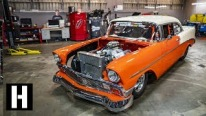 "Hoonigans Presents: 632ci 210mph Engine Powered 1956 Chevy ""Creamsicle"" is True Masterpiece"
