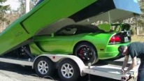 Uniquely Designed Trailer for Dodge Viper ACR is Gonna Make You Say WTF!