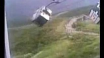 Ride From Hell: Terrifying Cable Car Incident Looks Like a Scene From the Final Destination!