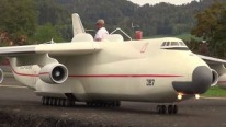 """Reigning King of the R/C World"": Small but Not So Small Scale Model of An-225 Aircraft"