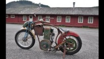 When Oldies Come Together: Cool Rat Bike with 1936 Lister D Stationary Engine
