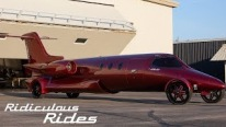 "Part Plane Part Limo ""Learjet Limo"" is Now Available For Anyone Willing to Pay $5 Million!"