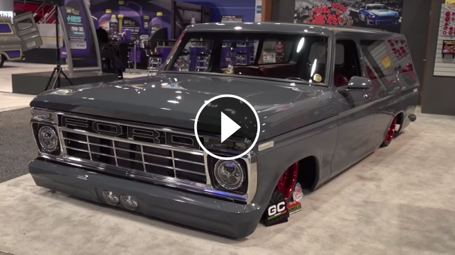 Drive Or Die 1976 Ford B 100 Gangster Street Truck Quot El Chapo Quot