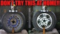 Hydraulic Press Battles: Steel vs Alloy Wheels Duration Test