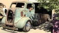 1938 Ford Rat Rod COE Cabover Hauler is a Real Rat Truck!