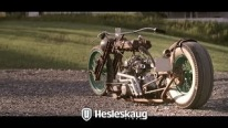 """Fleshwound"": Rat Rod Rustbike An Absolute Masterpiece of Motorcycle Art!"