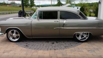 "1955 Chevrolet Pro-Touring Resto Mod is the Word ""Perfect"" Come into Being!"