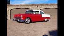 1955 Chevrolet Two Ten Restomod is the Best Combination of Red and White!